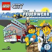 Cover-Bild zu LEGO City: Folge 3 - Feuerwehr - Auf der Spur des Roten Drachen (Audio Download) von Missler, Robert (Gelesen)
