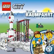 Cover-Bild zu LEGO City: Folge 5 - Raumfahrt - LUNA 1 antwortet nicht (Audio Download) von Brügger, Katja (Gelesen)