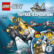 Cover-Bild zu LEGO City: Folge 15 - Tiefsee - Expedition - Der Schatz aus der Tiefe (Audio Download) von Dittmann, Klaus (Gelesen)