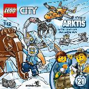 Cover-Bild zu LEGO City: Folge 21 - Arktis - Auf der Jagd nach dem weißen Gold (Audio Download) von Bideller, Michael (Gelesen)