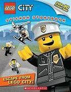 Cover-Bild zu Escape from Lego City! (Lego City: Sticker Storybook): Sticker Storybook von Wallace, Wade
