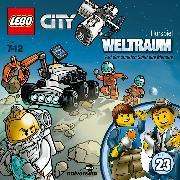 Cover-Bild zu LEGO City: Folge 23 - Weltraum - Auf der dunklen Seite des Mondes (Audio Download) von Stein, Flemming (Gelesen)