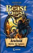 Cover-Bild zu Beast Quest - Arachnid, Meister der Spinnen von Blade, Adam
