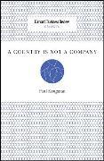 Cover-Bild zu A Country Is Not a Company von Krugman, Paul