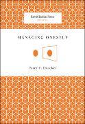 Cover-Bild zu Managing Oneself von Drucker, Peter F.