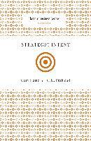 Cover-Bild zu Strategic Intent (eBook) von Hamel, Gary