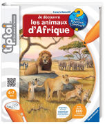 Cover-Bild zu Je découvre les animaux d'Afrique von Friese, Inka