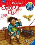 Cover-Bild zu Wieso? Weshalb? Warum? Stickerheft: Piraten von Bernhardi, Anne (Illustr.)