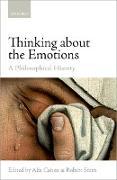 Cover-Bild zu Thinking about the Emotions (eBook) von Cohen, Alix (Hrsg.)