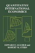 Cover-Bild zu Quantitative International Economics (eBook) von Leamer, Edward E.