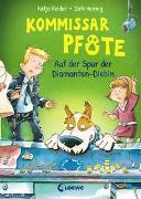 Cover-Bild zu Kommissar Pfote (Band 2) - Auf der Spur der Diamanten-Diebin von Reider, Katja