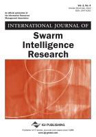 Cover-Bild zu Shi, Yuhui: International Journal of Swarm Intelligence Research, Vol 1 ISS 4