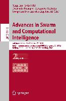 Cover-Bild zu Tan, Ying (Hrsg.): Advances in Swarm and Computational Intelligence