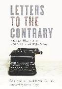 Cover-Bild zu Letters to the Contrary: A Curated History of the UNESCO Human Rights Survey von Goodale, Mark