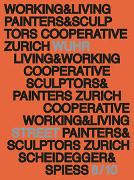 Cover-Bild zu Baugenossenschaft Maler und Bildhauer Zürich (Hrsg.): Working and Living