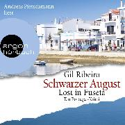 Cover-Bild zu Schwarzer August - Lost in Fuseta - Leander Lost ermittelt, (gekürzt) (Audio Download) von Ribeiro, Gil