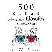 Cover-Bild zu 500 citas de los grandes filósofos del siglo XVIII (Audio Download) von Smith, Adam