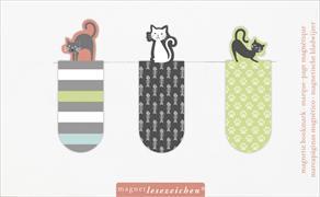 Cover-Bild zu Magnetlesezeichen Cats