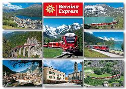 Cover-Bild zu 16350; AK: Bernina Express / 'Hit' Bahnverbindung Puschlav über