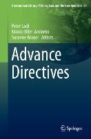 Cover-Bild zu Advance Directives von Lack, Peter (Hrsg.)