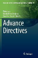 Cover-Bild zu Advance Directives von Biller-Andorno, Nikola (Hrsg.)