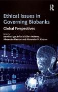 Cover-Bild zu Ethical Issues in Governing Biobanks (eBook) von Biller-Andorno, Nikola