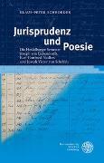 Cover-Bild zu Jurisprudenz und Poesie von Schroeder, Klaus-Peter