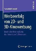 Cover-Bild zu Werbeerfolg von 2D- und 3D-Kinowerbung (eBook) von Hildebrandt, Sven