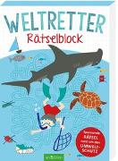 Cover-Bild zu Weltretter-Rätselblock von Löwenberg, Ute