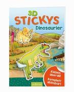 Cover-Bild zu 3D-Stickys Dinosaurier von Coenen, Sebastian (Illustr.)