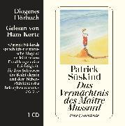 Cover-Bild zu Süskind, Patrick: Das Vermächtnis des Maître Mussard