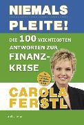 Cover-Bild zu Die 100 wichtigsten Antworten zur Finanzkrise (eBook) von Carola, Ferstl