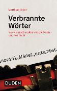 Cover-Bild zu Heine, Matthias: Verbrannte Wörter