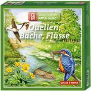 """Cover-Bild zu Natur-Memo """"Quellen, Bäche, Flüsse"""" von Quelle & Meyer Verlag GmbH (Hrsg.)"""