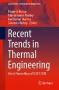 Cover-Bild zu Recent Trends in Thermal Engineering: Select Proceedings of Icast 2020 von Kumar, Ritunesh (Hrsg.)