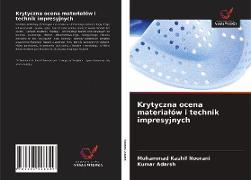 Cover-Bild zu Krytyczna ocena materialów i technik impresyjnych von Noorani, Mohammad Kashif