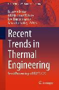 Cover-Bild zu Recent Trends in Thermal Engineering (eBook) von Pandey, Adarsh Kumar (Hrsg.)