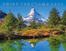 Cover-Bild zu Cal. Swiss Panorama 2021 Ft. 40x31