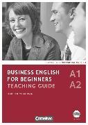 Cover-Bild zu Business English for Beginners, Third Edition, A1/A2, Teaching Guide mit CD-ROM von Richardson, Karen