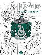 Cover-Bild zu Harry Potter: Slytherin House Pride: The Official Coloring Book von Insight Editions