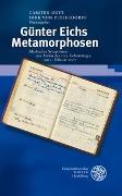 Cover-Bild zu Dutt, Carsten (Hrsg.): Günter Eichs Metamorphosen