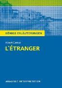 Cover-Bild zu L'Étranger - Der Fremde. Königs Erläuterungen (eBook) von Camus, Albert