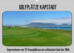 Cover-Bild zu Golfplätze Kapstadt (Wandkalender 2022 DIN A3 quer) von Affeldt, Uwe