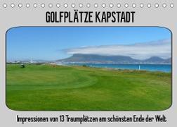 Cover-Bild zu Golfplätze Kapstadt (Tischkalender 2022 DIN A5 quer) von Affeldt, Uwe