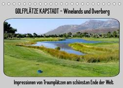 Cover-Bild zu Golfplätze Kapstadt - Cape Winelands und Overberg (Tischkalender 2022 DIN A5 quer) von Affeldt, Uwe