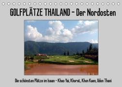 Cover-Bild zu Golfplätze Thailand - Der Nordosten (Tischkalender 2022 DIN A5 quer) von Affeldt, Uwe