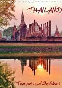 Cover-Bild zu Thailand - Tempel und Buddhas (Wandkalender 2022 DIN A4 hoch) von Affeldt, Uwe