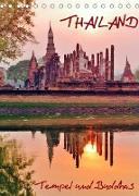Cover-Bild zu Thailand - Tempel und Buddhas (Tischkalender 2022 DIN A5 hoch) von Affeldt, Uwe
