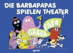 Cover-Bild zu Die Barbapapas spielen Theater von Taylor, Talus