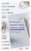 Cover-Bild zu Es kann nicht still genug sein von Siblewski, Klaus